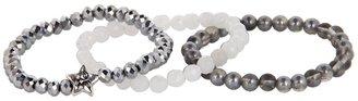 Dee Berkley - Starlight Bracelet (Silver/White) - Jewelry