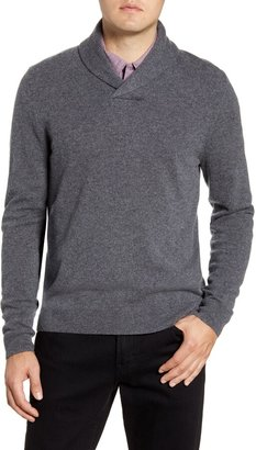 Nordstrom Shawl Collar Cashmere Pullover