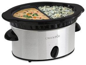 Bed Bath & Beyond Crock-Pot® 4-Cup Double Dipper™ Slow Cooker