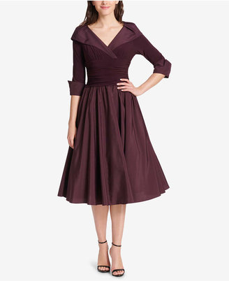 4e43bef9ae5e Jessica Howard Portrait-Collar A-Line Dress