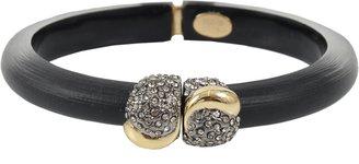 Alexis Bittar Durban Gold Pave Ball Bracelet