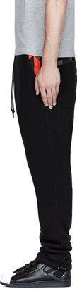 Y-3 Black & Camo-Paneled Harem Pants