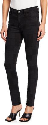 Frame Le High Skinny Patchwork Jeans