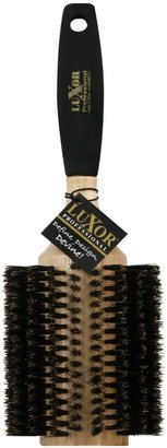 J&D Extra-Large Round 100% Boar Bristle with Foam Handle Brush $14.99 thestylecure.com
