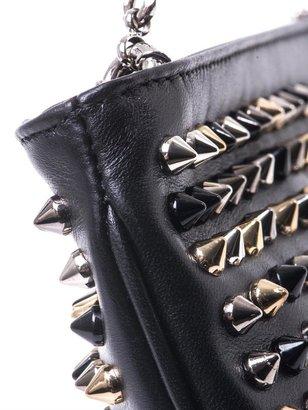 Christian Louboutin Loubiposh leather clutch