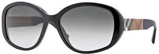 Burberry Blaze & Orchard Oversized Round Sunglasses