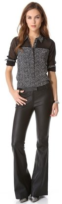 Rachel Zoe Leather Hutton Pants