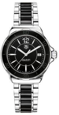 Tag Heuer Ladies' Formula 1 Stainless Steel Black Dial Watch