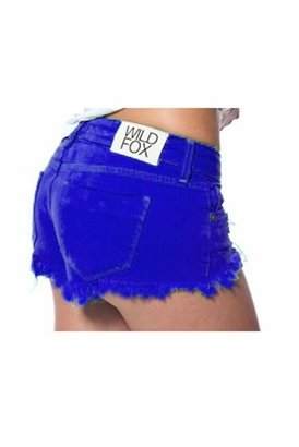 Wildfox Couture Friday Night Cutoff Shorts in Cobalt Blue