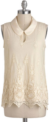 Queen Anne's Lacy Top