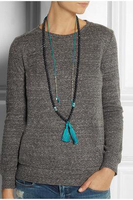 Chan Luu Shale beaded necklace