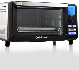 Cuisinart Black Matte TOB-100BW Toaster Oven, Exact Heat