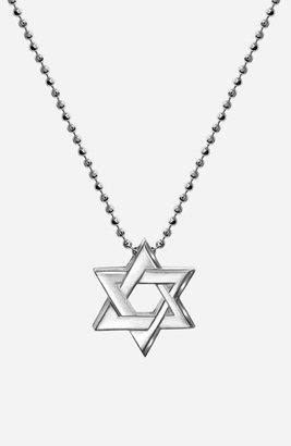 Alex Woo 'Little Faith' Star of David Pendant Necklace