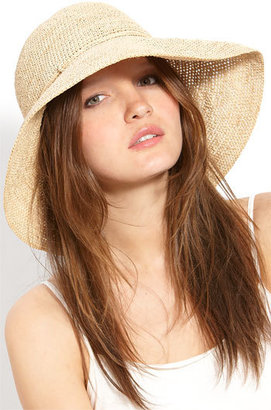 Women's Helen Kaminski 'Provence 12' Packable Raffia Hat - Beige $225 thestylecure.com