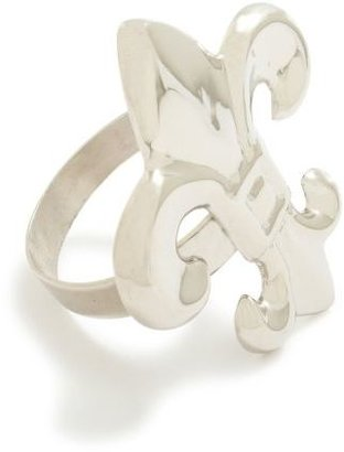 Sur La Table Fleur-De-Lys Napkin Ring
