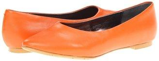 Fitzwell Jen Ballet Flat (Orange) - Footwear