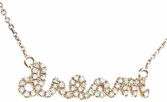 Sydney Evan Diamond Dream Necklace - Rose Gold