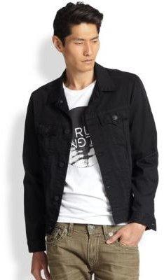 True Religion Danny Denim Trucker Jacket