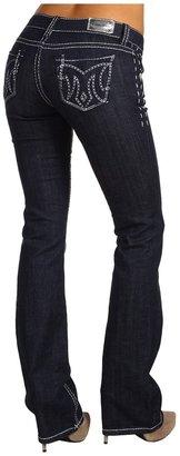 MEK Ifrane Slim Boot Saddle Stitch in Rinse (Rinse) - Apparel