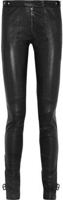 Belstaff Ledbury motocross-style leather skinny pants
