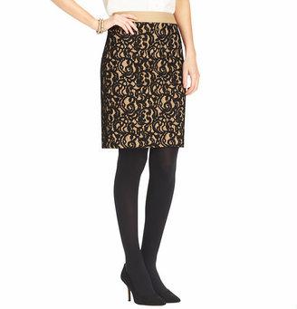 LOFT Petite Lace Pencil Skirt