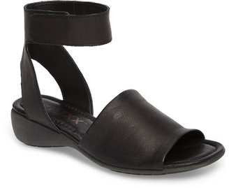 The Flexx 'Beglad' Leather Ankle Strap Sandal