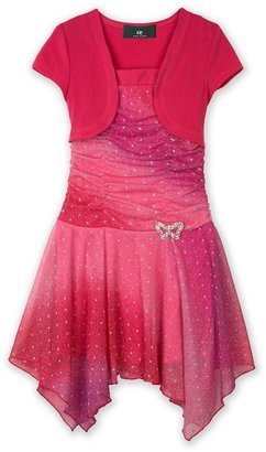 Amy Byer Iz mock-layer ombre hipster dress - girls 7-16