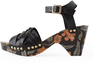 Isabel Marant silway flower platform sandal