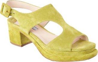Prada Cutout Ankle Strap Sandal