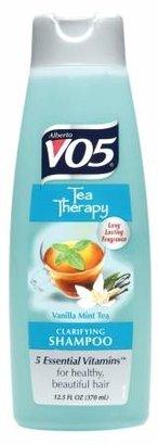 Alberto VO5 Tea Escapes Clarifying Shampoo Vanilla Mint Tea $0.99 thestylecure.com
