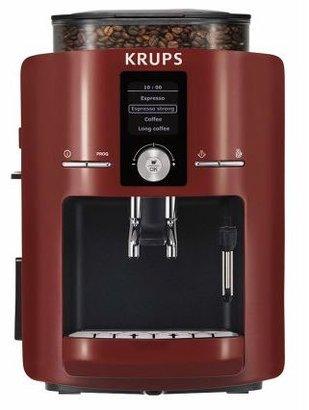 Krups Espresseria Red Automatic Espresso Machine