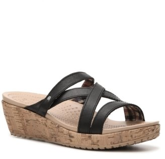 Crocs A-Leigh Mini Wedge Sandal