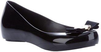 Jason Wu Melissa + peep-toe flat shoe
