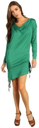 Vivienne Westwood Is Drawstring Tunic (Emerald) - Apparel
