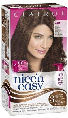Clairol Nice 'n Easy Color Blend Foam Dark Reddish Brown 4RB