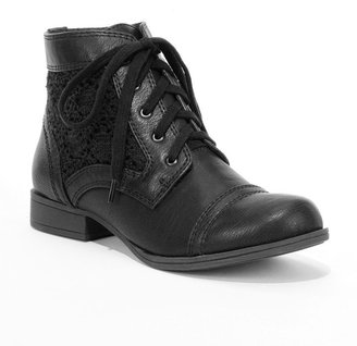UNIONBAY crocheted ankle boots - women