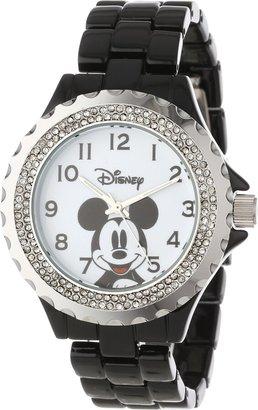 Disney Women's W000501 Mickey Mouse Enamel Sparkle Bracelet Watch