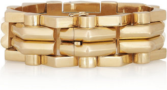 Olivia Collings 1940s 18-karat gold bracelet