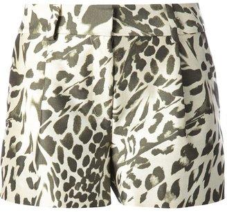 Diane von Furstenberg 'Naples' leopard print shorts