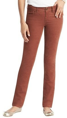 LOFT Marisa Straight Leg Corduroy Pants