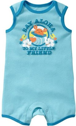 Old Navy Graphic Sleeveless One-Pieces for Baby