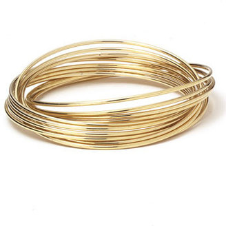 Nordstrom Rolling Bangle Bracelets Gold