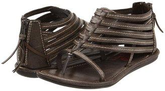 Big Buddha Test (Distressed Brown/Black) - Footwear