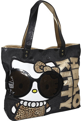 Loungefly Hello Kitty Leopard with Glasses Tote