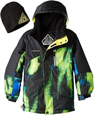ZeroXposur Big Boys' Blindside Ii Snowboard Jacket and Knit Cap
