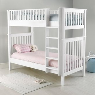 The White Company Classic Convertible Bunk Bed, White, One Size
