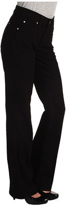 Miraclebody Jeans Katie Straight Leg in Licorice