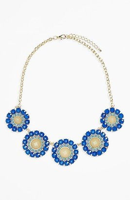 Stephan & Co Flower Statement Necklace (Juniors)
