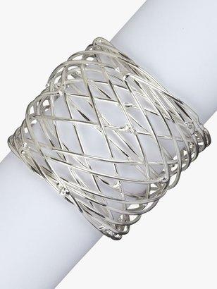 John Lewis & Partners Nest Napkin Ring, Set of 4