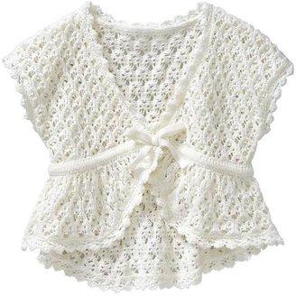 Gap Open-knit short-sleeve cardigan
